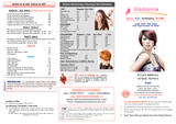 Menus & Prices, Radiance Beauty Nails Hair Extensions for Ladies, Chichester