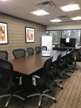 Windsor Large Conference Room - CT Divorce Mediation Center CT Divorce Mediation Center, LLC 360 Bloomfield Avenue, Suite 301 – 3rd Floor
