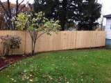 6' stockade fence installed in New Carlisle, IN Custom Fence Company 2265 reum rd