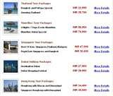 Pricelists of Tourism Attractions Thailand - Tour Packages
