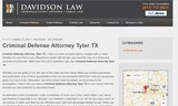 Pricelists of Criminal Defense Attorney Tyler TX