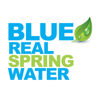 Blue Real Spring Water