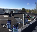 Flat Roof Installation In New Jersey.