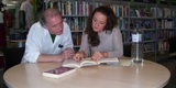 English lesson in library