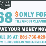 Tile Grout Cleaning Dickinson TX