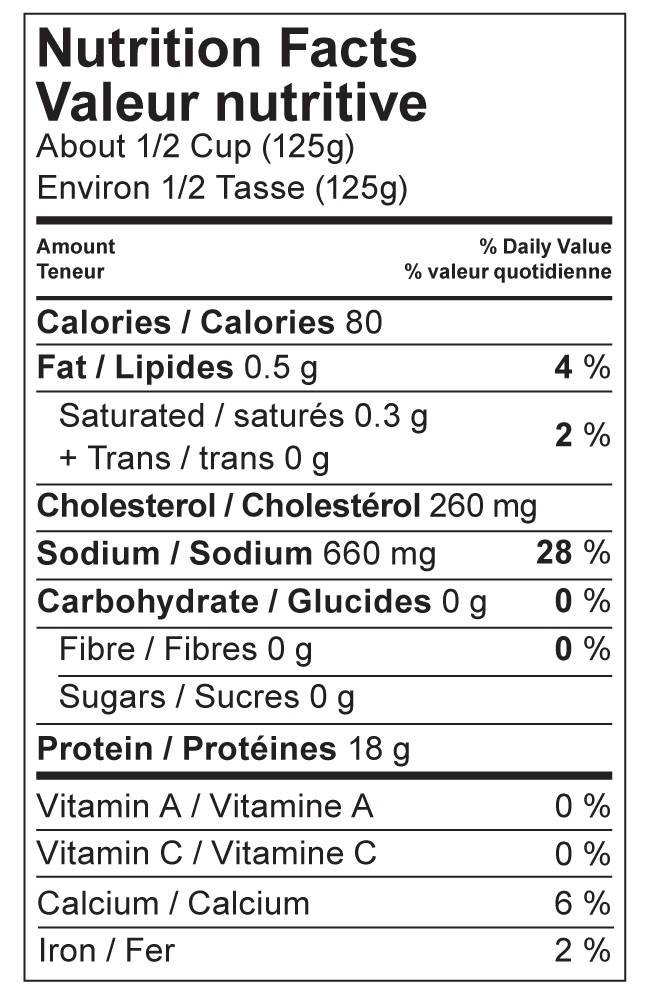 It is a picture of Gorgeous Nutrition Facts Label Generator Canada