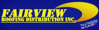 FAIRVIEW ROOFING DISTRIBUTION INC.