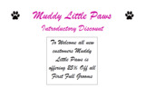 Pricelists of Muddy Little Paws - Professional Qualified Groomer