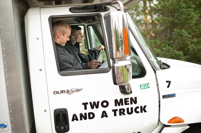 New Album of Two Men and a Truck 1128 Hwy 54 E, #100 - Photo 1 of 3