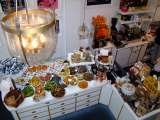 Blanche eatery food display