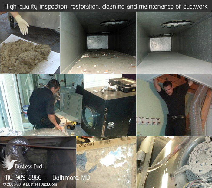Our Sevices of Dustless Duct 1 N Eutaw St - Photo 10 of 14