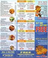 Pricelists of Pizza Chicken Hot 4 You