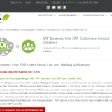 SAP Business One users from usa