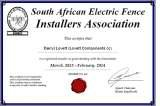 Pricelists of Electric Fence Johannesburg