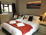 Holiday Cottage Watchet Master Bedroom with Sea Views