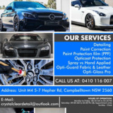 Crystal Clear Detailing | Paint Correction Sydney
