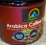 Arabica Coffee Scrub Face & Body Exfoliating Scrub of My Organic Zone - All Natural Skin Care and Beauty Products