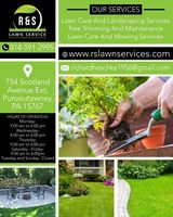 Lawn Care and Landscaping Services  | R & S Lawn Service, Punxsutawney