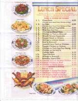 Pricelists of Ark Chinese Restaurant