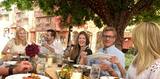 Summer's Farm to Table event in Vail Village provides foodies with a healthy and hearty outdoor eating opportunity.