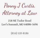 Penny J Curtis, Attorney at Law, Lees Summit