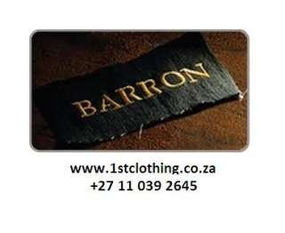 Barron Clothing @ First Clothing