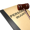 Personal injury titled on legal documents folder with gavel isolated on white Profile Photos of Personal Injury National City National City - Photo 1 of 1