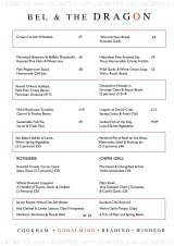 Pricelists of Bel and the Dragon Godalming