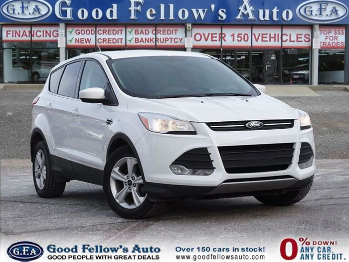 Are you looking for the perfect car to get your family around this winter? Good Fellow's Auto Wholesalers has the perfect option for you! This grey 2016 used Ford Escape is equipped with many features, including a rearview camera and heated seats! Inventory of Good Fellow's Auto Wholesalers 3675 Keele St - Photo 10 of 221