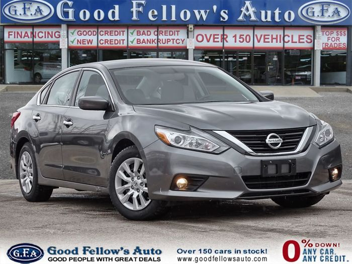 Let's get you driving in this incredible 2018 Nissan Altima that's now available at our dealership for $15,900 + taxes and licensing!<br /> <br /> https://www.goodfellowsauto.com/ Inventory of Good Fellow's Auto Wholesalers 3675 Keele St - Photo 33 of 220