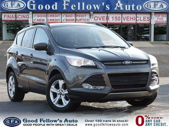 On our website, you'll find up-to-date information on every vehicle we have available  - including this stunning ingot grey 2016 used Ford Escape.<br /> <br /> https://www.goodfellowsauto.com/customer-resources/used-ford-escape/ Inventory of Good Fellow's Auto Wholesalers 3675 Keele St - Photo 37 of 219