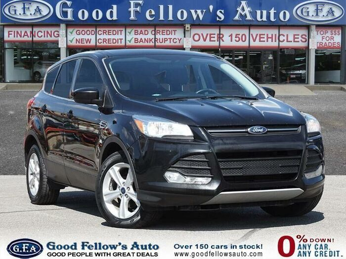 This black 2016 Ford Escape could be yours today! Contact us for more information.<br /> <br /> https://www.goodfellowsauto.com/customer-resources/used-ford-escape/ Inventory of Good Fellow's Auto Wholesalers 3675 Keele St - Photo 53 of 219