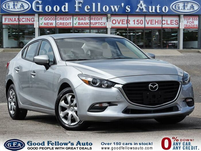 This Gorgeous Silver GX 2017 Mazda MAZDA3 is in excellent condition. <br /> <br /> https://www.goodfellowsauto.com/customer-resources/used-mazda-3/ Inventory of Good Fellow's Auto Wholesalers 3675 Keele St - Photo 54 of 221