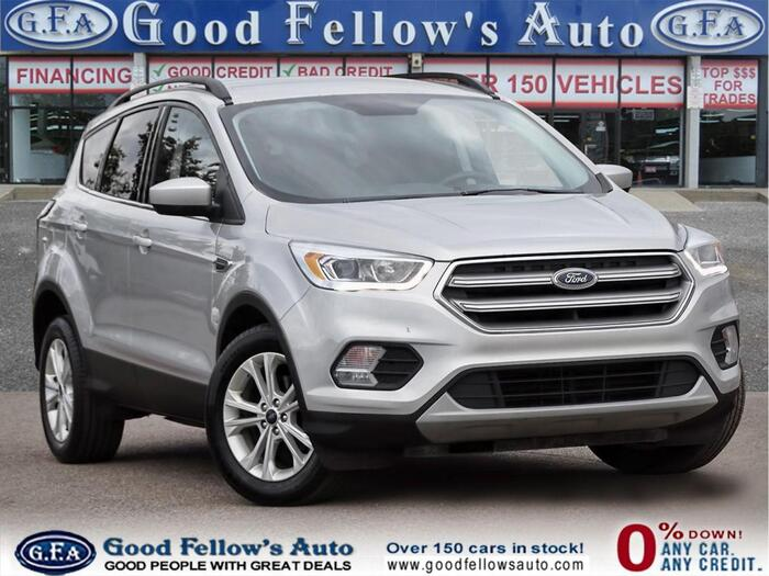 Take command of the road in an exquisite silver 2017 Ford Escape.<br /> <br /> https://www.goodfellowsauto.com/customer-resources/used-ford-escape/ Inventory of Good Fellow's Auto Wholesalers 3675 Keele St - Photo 92 of 219