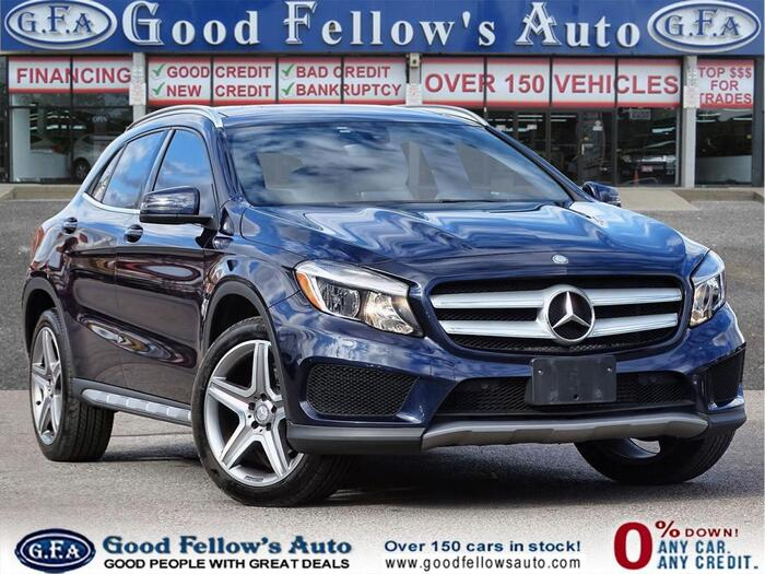 2017 Blue Mercedes-Benz GLA Inventory of Good Fellow's Auto Wholesalers 3675 Keele St - Photo 99 of 219