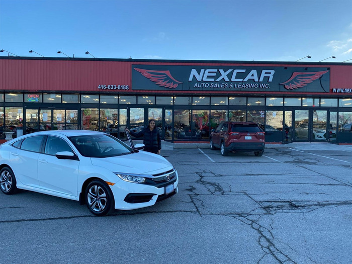 2018 Honda Civic Sold! Come find your next car here!! Happy Client Photo of Nexcar Auto Sales & Leasing 1235 Finch Ave W - Photo 59 of 59