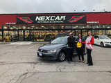 Happy Client with VW Nexcar Auto Sales & Leasing 1235 Finch Ave W