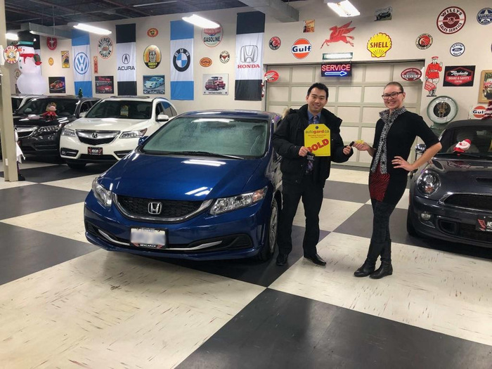 Happy Client Purchased Used Honda Civic Happy Client Photo 2 of Nexcar Auto Sales & Leasing 1235 Finch Ave W - Photo 1 of 41