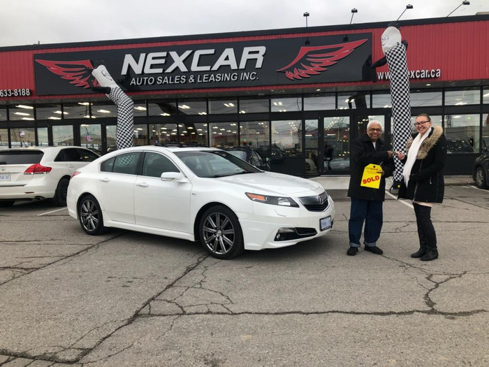 Nexcar Sold White Acura Toronto Happy Client Photo 2 of Nexcar Auto Sales & Leasing 1235 Finch Ave W - Photo 6 of 41