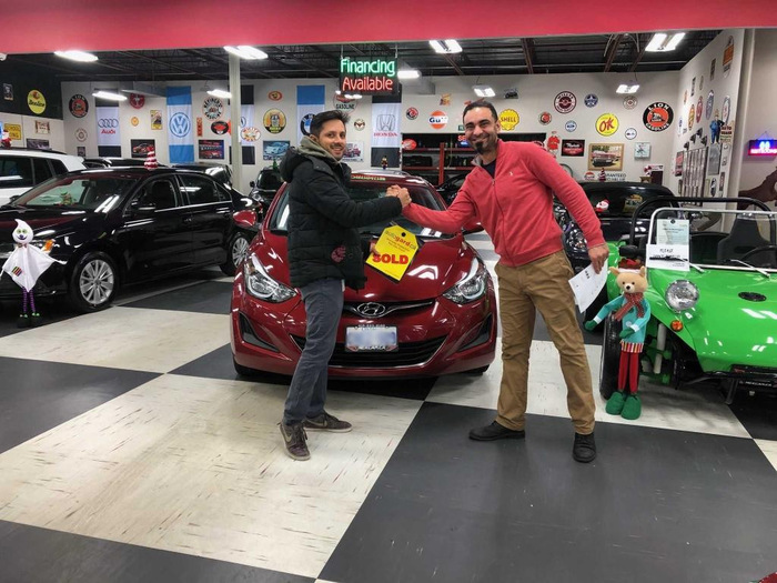 Nexcar Sold Hyundai Happy Client Photo 2 of Nexcar Auto Sales & Leasing 1235 Finch Ave W - Photo 7 of 41