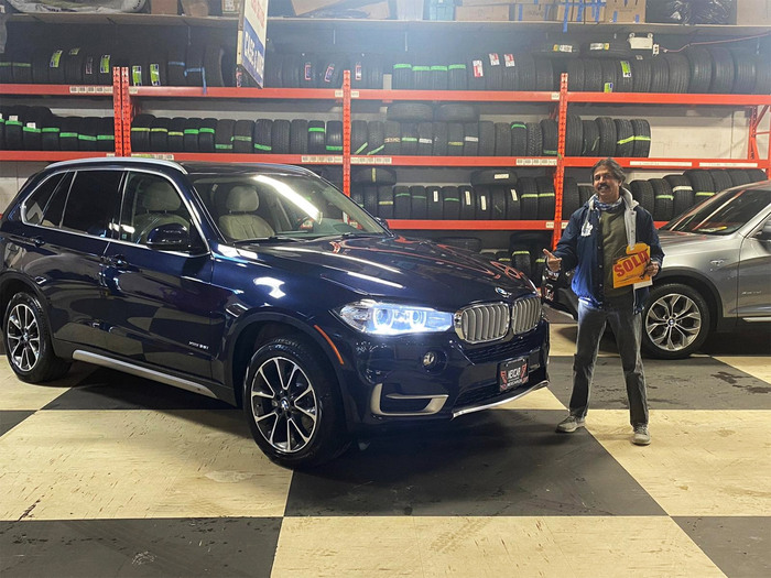 Sold! 2018 BMW X5 Technology Package to our happy client!  Happy Client Photo 2 of Nexcar Auto Sales & Leasing 1235 Finch Ave W - Photo 35 of 41