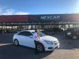 Happy Client with a 2017 Chevrolet Cruze! Nexcar Auto Sales & Leasing 1235 Finch Ave W
