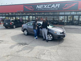 Sold! 2015 Honda Civic LX to our happy clients!  Nexcar Auto Sales & Leasing 1235 Finch Ave W