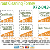 Tile Grout Cleaning Forney TX