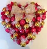 Sweet candy wreaths