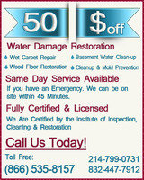 Profile Photos of Water Damage Restoration In Houston