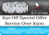 Pricelists of Hot Water Heaters Services