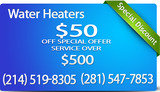 Pricelists of Water Heater in Dallas
