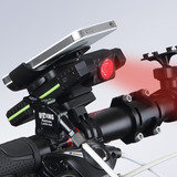 Bicycle Bike Cycling Rechargeable Power Bank LED CREE Headlight