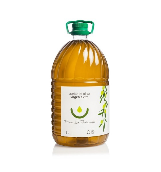 EXTRA VIRGIN OLIVE OIL - 5 LITERS PICUAL PET CAREFE